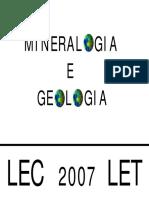 Mineralogia e Geologia
