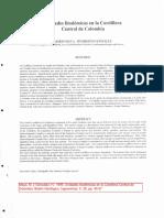 Maya & Gonzalez, 1995. Unidades Litodemicas en La Cordillera Central