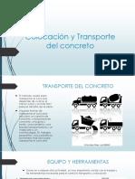 Colocación y Transporte del concreto.pptx