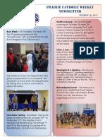 Newsletter 10 19 17