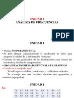 UNIDAD 1. Clase 3. Análisis de Frecuencias