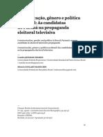 Comunicação, gênero e política no Brasil