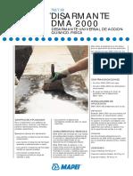 Disarmante Dma 2000 (Ac)