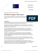The Elite Newspaper of the Future