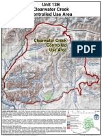 Clearwater Creek Controlled Use Area