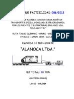 Estudio de Factibilidad Alanoca