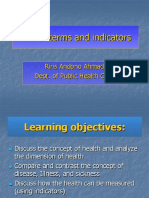 Health Terms(Dr.donnie)