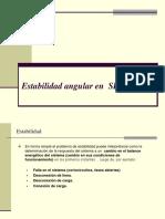 Estabilidad Angular