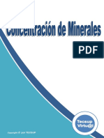 Concentración de minerales