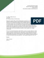 sylvan volunteer letter