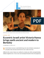 Eccentric Israeli artist Victoria Hanna brings spells ancient and modern to Berkeley