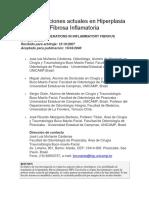Consideraciones Actuales en Hiperplasia Fibrosa Inflamatoria