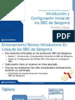 Training SBC Sangoma