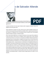 Discurso de Salvador Allende Colombia