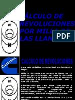 Calculo de Revoluciones Por Kilometro de La Llanta