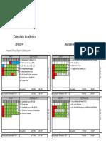 Calendário acadêmico IFPB 2013