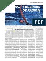 Entrevista a la nadadora cordobesa Andrea Berrino