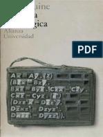 Quine, W.O. -Filosofia de La Lógica Alianza Ed. 1998