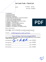 Ranco Costa Verda Contract