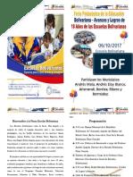 Bienvenidos a La Fiesta Escolar Bolivariana