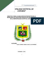 Directiva Obras Final 2015 Mdc