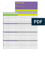 Lista de Evaluación y Asistencia 2DO