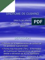 Seminario e1. Sindrome de Cushing. Dra. Flor Vento. 2016