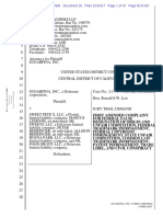Sugarfina Inc. v. Sweet Pete's - Amended Complaint