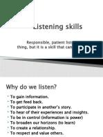 Listening Skillls - Final