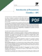 Introducción al Pensamiento científico- UBA XXI- Materia IPC