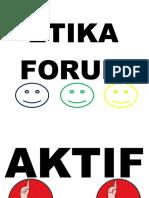 Etika Forum