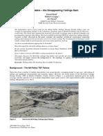 ANCOLD 2015-Abracadabra-The Disappearing Tailings Dam-BRETT LONGEY HERZA