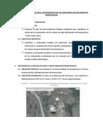 Plan de Remediación de Agua Contaminada Por Los Lixiviados Del Botadero