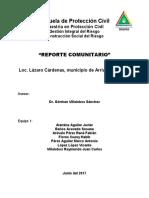 Reporte Comunitario de Lazaro Cardenas2