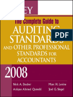 Nick a. Dauber, Anique Ahmed Qureshi, Marc H. Levine, Joel G. Siegel-Wiley the Complete Guide to Auditing Standards, And Other Professional Standards for Accountants 2008 (2008)