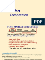 Perfect Competition A