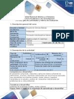 Guía de actividades y rúbrica de evaluación. Unidad 2- Ciclo de la tarea 2