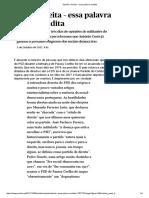 Print JMTavares Direita – Essa Palavra Maldita Publico