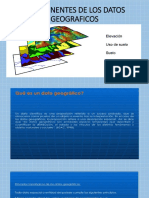 1 Sig Unidad 1 Componentes de Los Datos Geograficos