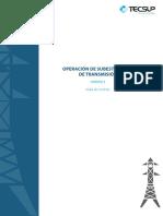 OPERACIÓN DE SUBESTACIONES DE TRANSMISIÓN