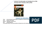 Autoconocimiento Transformador Los Eneatipos en La Vida La Psicoterapia de Naranjo Cohen Claudio