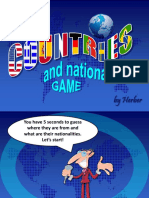 54404 Countries Game Ppt