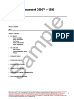 AIA D200 1995 Free Sample Preview Copy