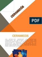 Diapositivas de Cerámicos