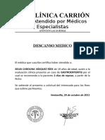 Descanso Medico 2