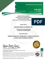 ManualesHiltiESR 3037 SP Perno Mecánico
