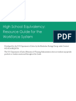 HSE Resource Guide for the Workforce System