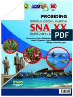 Halaman Cover Prosiding Sna Xx 2017 Jember