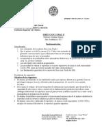 Direccion Coral II 2011