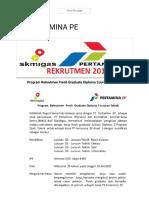 PT. PERTAMINA PE - POLNES (Politeknik Negeri Samarinda) Official Website